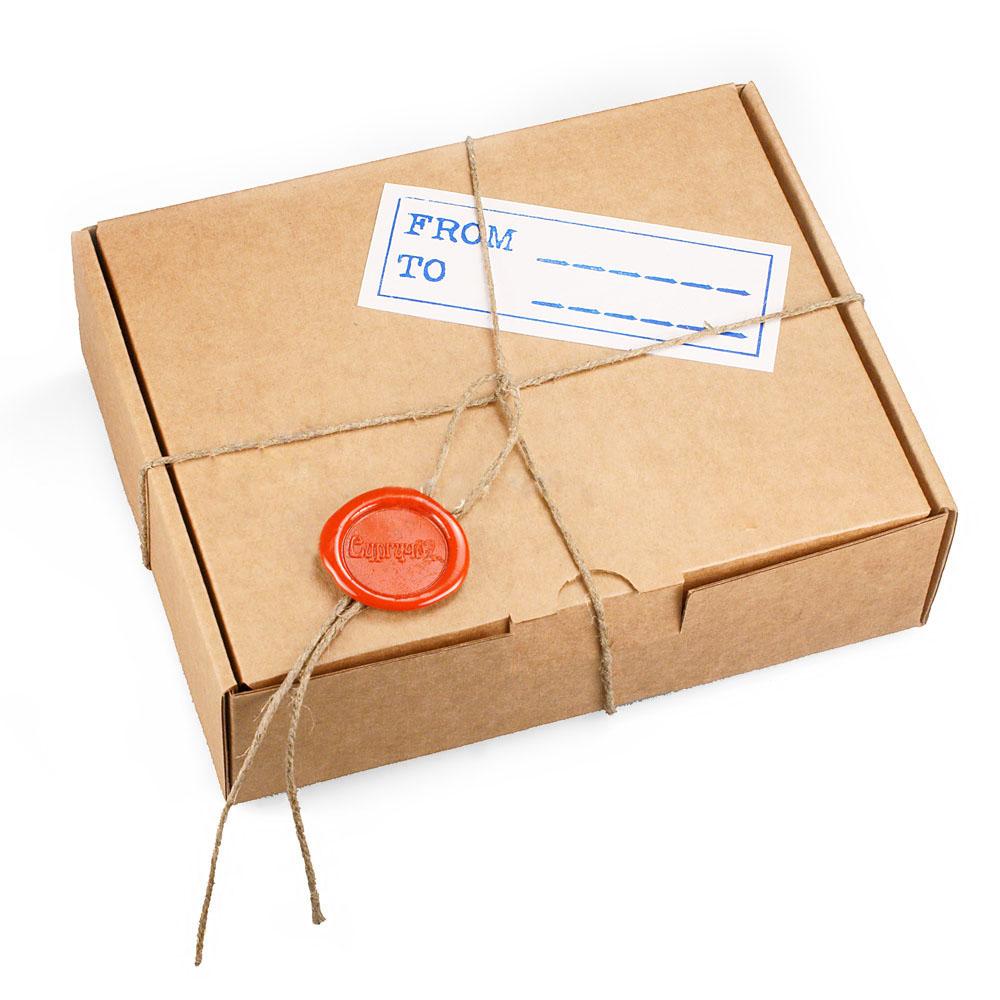 Открытки в посылке